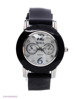 Часы Bora. Цвет: черный, белый
