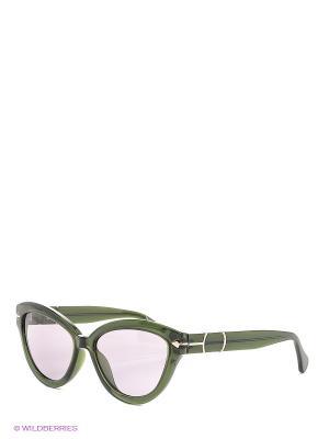 Солнцезащитные очки TM 506S 02 Opposit. Цвет: зеленый