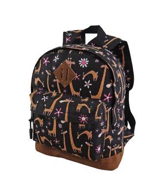Рюкзак Stelz. Цвет: коричневый, оранжевый, розовый