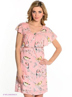 Платье Capriz. Цвет: розовый