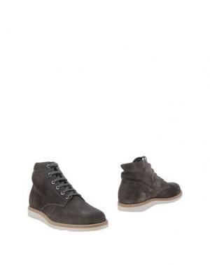 Полусапоги и высокие ботинки FABIANO RICCI. Цвет: свинцово-серый