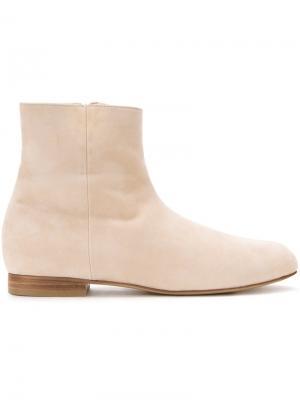 Ботинки по щиколотку As Nubuck Astraet. Цвет: коричневый
