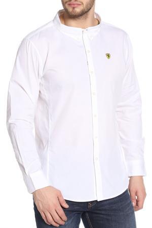 Рубашка Ferrari. Цвет: белый
