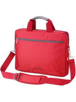 Сумка с отделением для ноутбука Sumdex. Цвет: красный