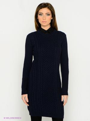 Платье IMAGO. Цвет: темно-синий