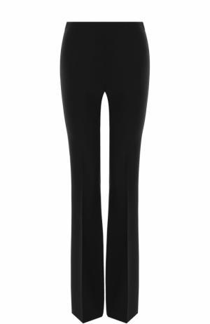Однотонные расклешенные брюки со стрелками Michael Kors Collection. Цвет: черный