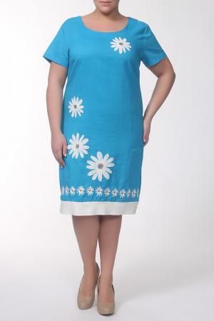 Платье QNEEL Q'NEEL. Цвет: синий