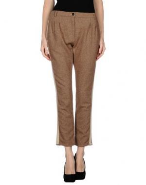 Повседневные брюки MASSIMO ALBA. Цвет: хаки