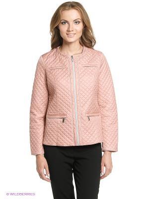 Куртка STEINBERG. Цвет: розовый