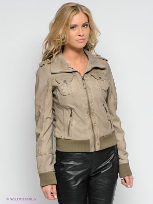 Куртка Mauritius. Цвет: серо-коричневый