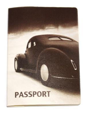 Обложка для паспорта Lola. Цвет: черный, белый