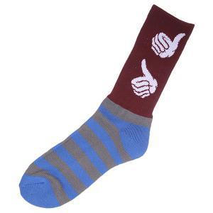 Носки  Usa Burgundy Bro Style. Цвет: коричневый,серый,синий,белый