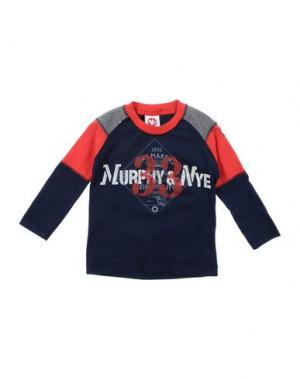 Футболка MURPHY & NYE. Цвет: темно-синий