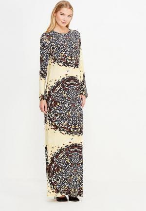Платье Sahera Rahmani. Цвет: бежевый