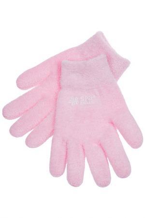 Увлажняющие гелевые перчатки SPA BELLE. Цвет: розовый