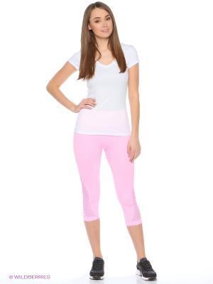 Капри Pro-Fit. Цвет: розовый