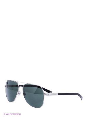 Очки солнцезащитные DOLCE & GABBANA. Цвет: серебристый