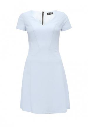 Платье Sinequanone. Цвет: голубой