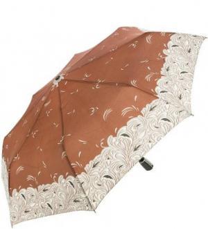 Складной зонт с системой «антиветер» Doppler. Цвет: коричневый
