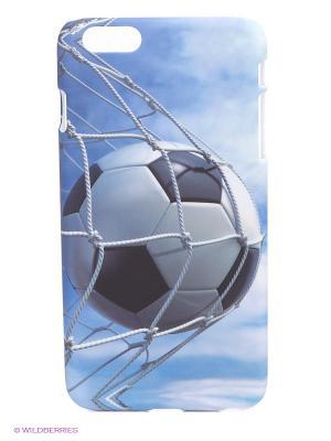 Чехол для iPhone 6 plus WB. Цвет: голубой, белый, черный