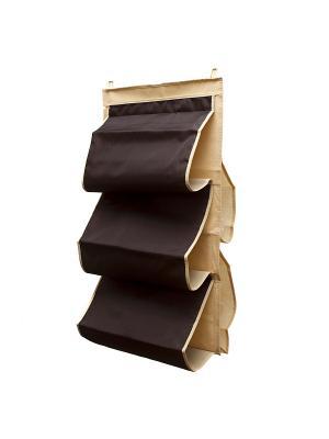 Органайзер для сумок в шкаф Costa-Rica Homsu. Цвет: коричневый