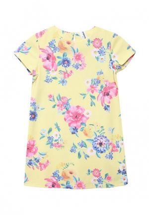Платье Overmoon by Acoola. Цвет: желтый