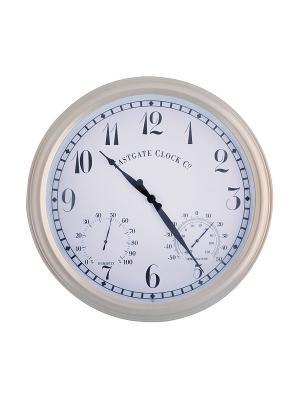 Часы Esschert Design. Цвет: белый