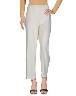 Повседневные брюки CALALUNA. Цвет: слоновая кость