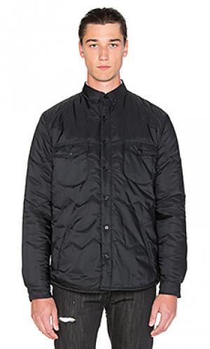 Рубашка ogawa Black Scale. Цвет: черный