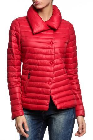 Куртка AZULE. Цвет: красный