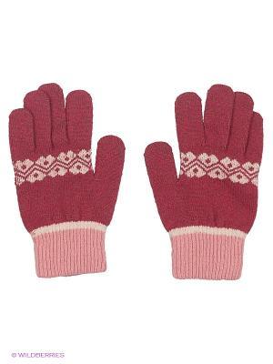 Перчатки Maxval. Цвет: розовый