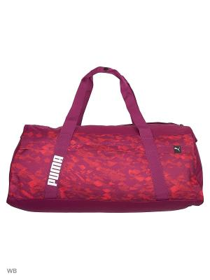 Сумка Core Active Sportsbag L PUMA. Цвет: темно-фиолетовый
