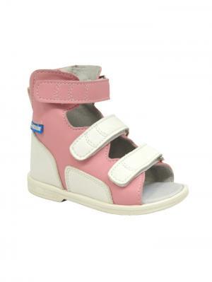 Обувь ортопедическая малосложная ETNA, арт.7.35.2 ORTMANN. Цвет: розовый