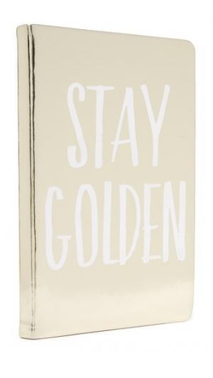 Записная книжка Stay Golden Gift Boutique