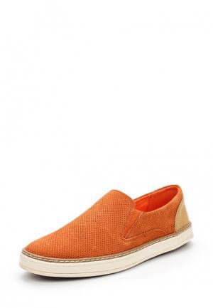 Слипоны Keddo. Цвет: оранжевый