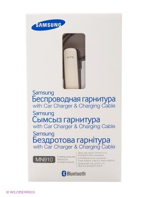 Гарнитура Bluetooth MN910 Samsung. Цвет: серебристый