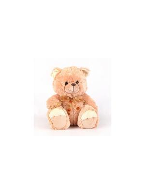 Медведь, поет песню Мишка PLUSH APPLE. Цвет: бежевый