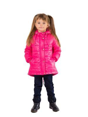 Пальто SAIMA. Цвет: розовый