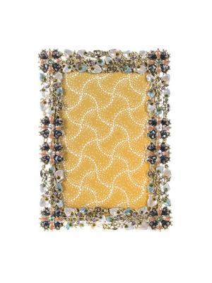 Рамка для фотографии 12,5х17,5 см Jia Cheng. Цвет: лазурный, бледно-розовый, светло-коралловый