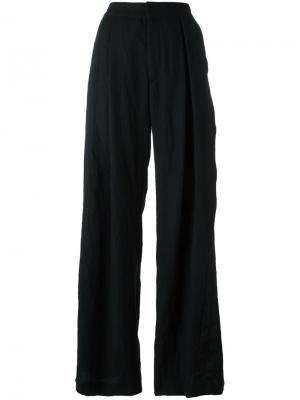 Широкие брюки с завышенной талией A.F.Vandevorst. Цвет: чёрный