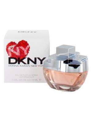 Myny lady edp 30 ml DKNY. Цвет: красный, белый