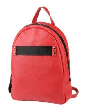 Рюкзаки и сумки на пояс BORSETTERIA Napoli 1985. Цвет: красный