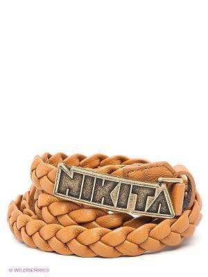 Ремень Nikita. Цвет: коричневый