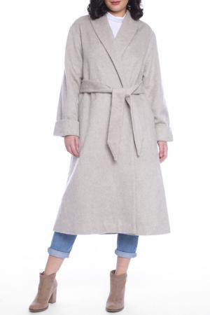 Пальто Moda di Chiara. Цвет: beige