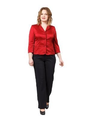 Жакет BERKLINE. Цвет: бордовый