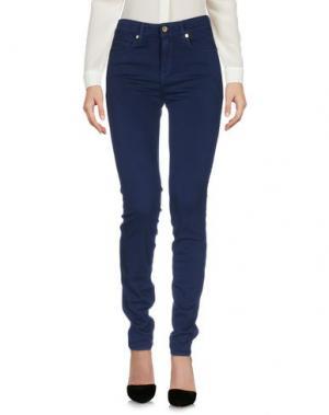 Повседневные брюки GENETIC DENIM. Цвет: темно-синий