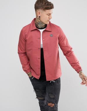 Hype Розовая спортивная куртка. Цвет: розовый