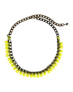 Ожерелье LANVIN. Цвет: светло-зеленый