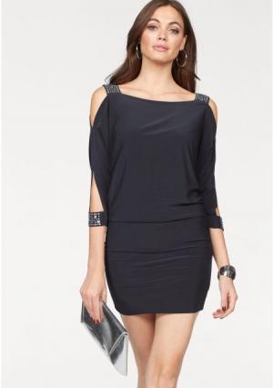 Платье MELROSE. Цвет: серый