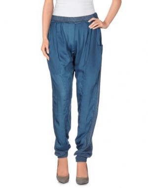 Повседневные брюки SITA MURT/. Цвет: цвет морской волны